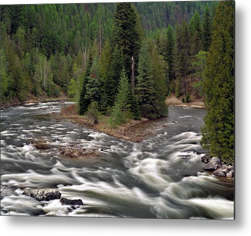 Idaho Metal Print featuring the photograph Kootenai River by Leland D Howard