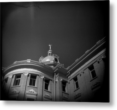 Holga Metal Print featuring the photograph Lady Justice by Paul Anderson