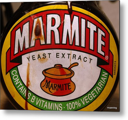 Marmite Metal Print featuring the photograph Marmite by Michael Canning