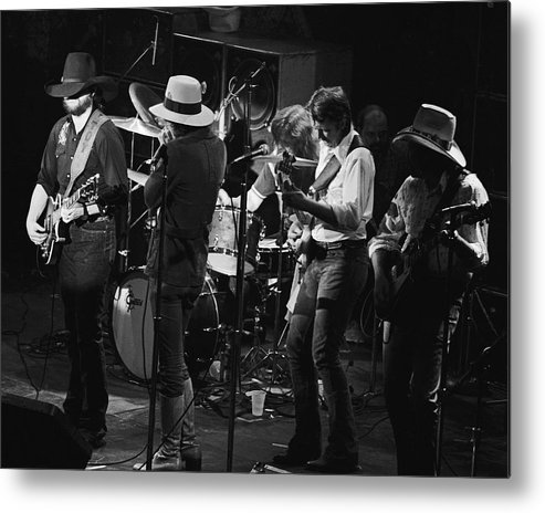 Marshall Tucker Band Metal Print featuring the photograph Marshall Tucker Band With Jimmy Hall 3 by Ben Upham