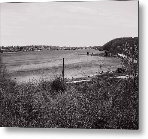 Mystic Metal Print featuring the photograph Mystic Overlook by Heather Weikel