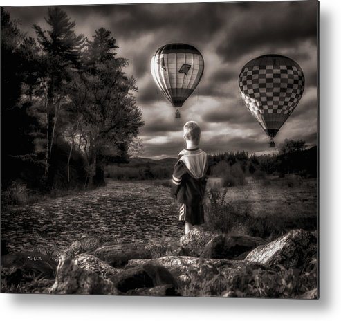 Boy Metal Print featuring the photograph One Boys Dream by Bob Orsillo