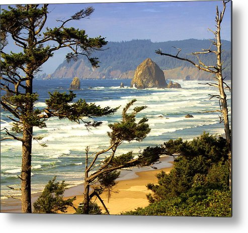 Ocean Metal Print featuring the photograph Oregon Coast 15 by Marty Koch