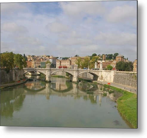 Rome Metal Print featuring the photograph Rome Reflections by Tom Reynen