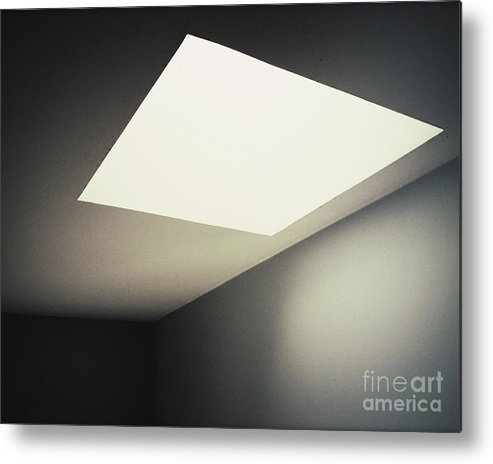 Light Metal Print featuring the photograph Shapes by Rikard Olsson