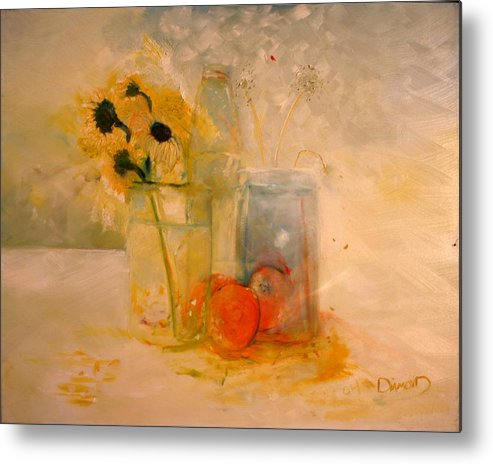Daisey Metal Print featuring the painting Summer Light by Jack Diamond