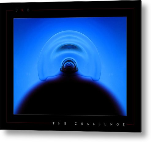 Challenge Metal Print featuring the photograph The Challenge by Jonathan Ellis Keys