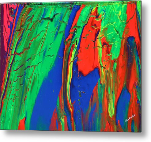 Fusionart Metal Print featuring the painting The Escape by Ralph White