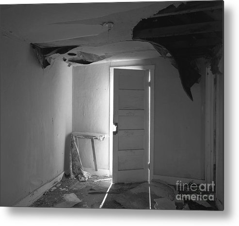 Christian Slanec Metal Print featuring the photograph The Forgotten Room by Christian Slanec