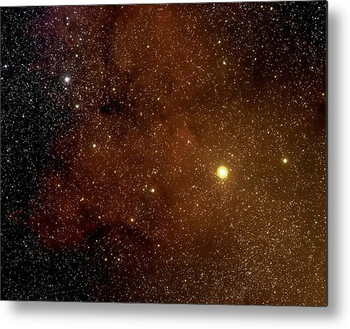 Space Metal Print featuring the photograph The Garnet Star by Jim DeLillo