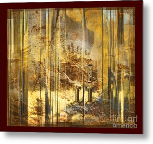 Conservation Metal Print featuring the digital art The Hands Of Time by Chuck Brittenham