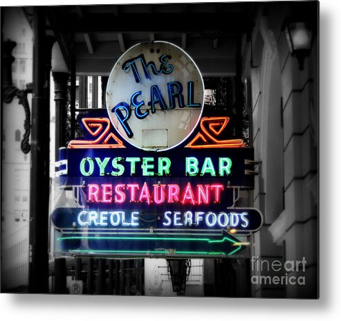 New Orleans Metal Print featuring the photograph The Pearl by Perry Webster