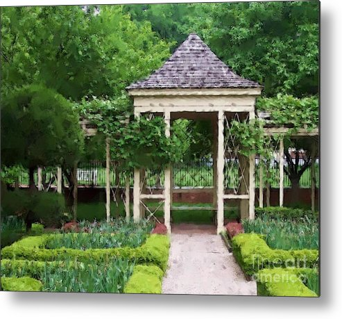 Garden Metal Print featuring the photograph Tranquil by Debbi Granruth