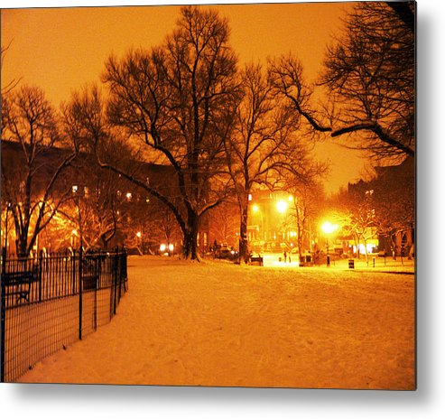 Winter Metal Print featuring the photograph Winter's Solace by Kendall Eutemey