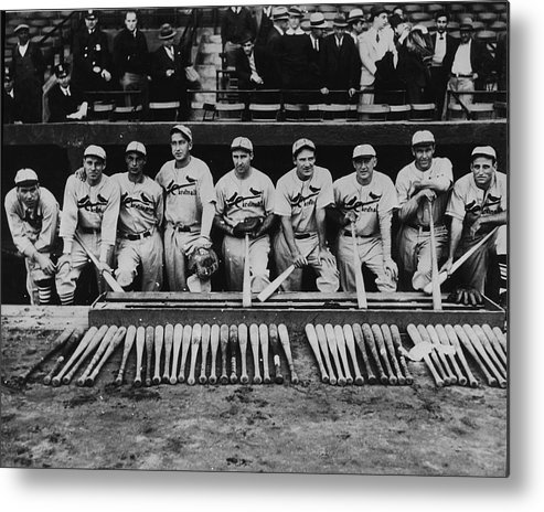 St. Louis Cardinals Metal Print featuring the photograph 1934 St. Louis Cardinals 1934 by Fpg