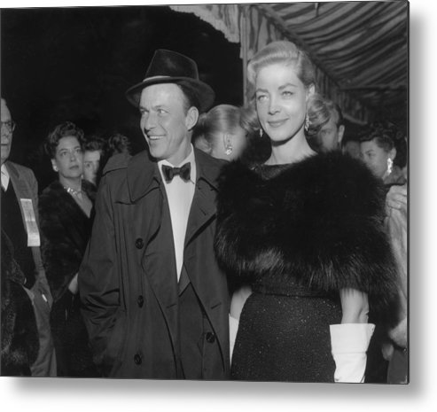 Event Metal Print featuring the photograph Sinatra & Bacall by American Stock Archive