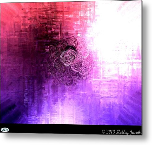 Color Sensation Brighter Metal Print By Holley Jacobs