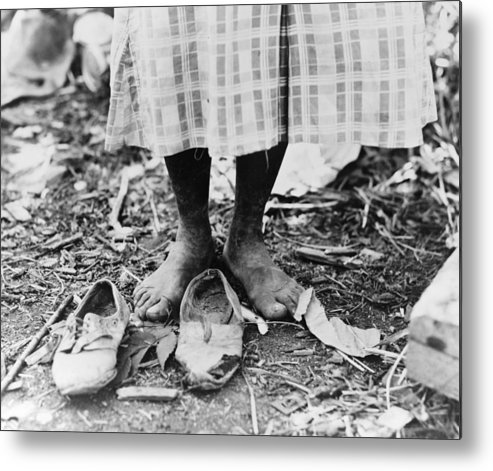 1937 Metal Print featuring the photograph Cotton Picker, 1937 by Granger