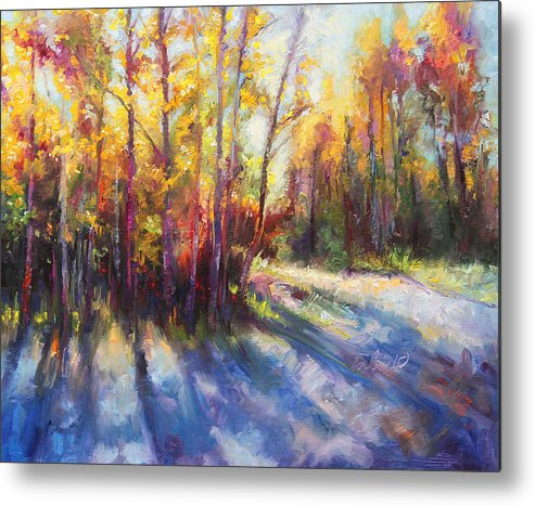 Alaska Metal Print featuring the painting Growth by Talya Johnson