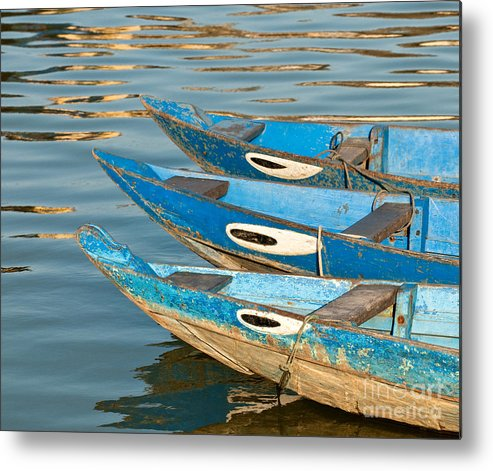 Vietnam Metal Print featuring the photograph Guardian Eyes by Rick Piper Photography