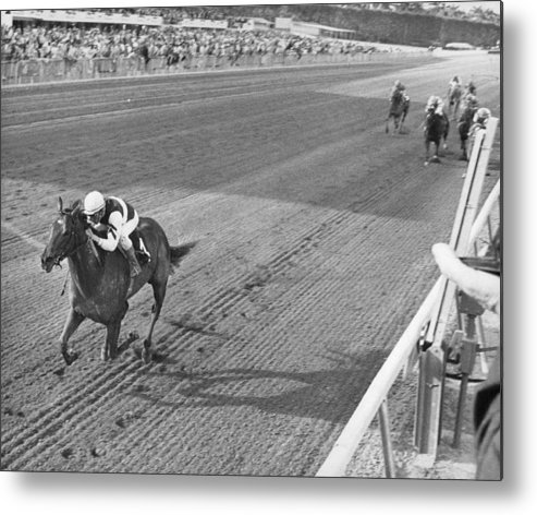Rare Metal Print featuring the photograph Secretariat by Retro Images Archive