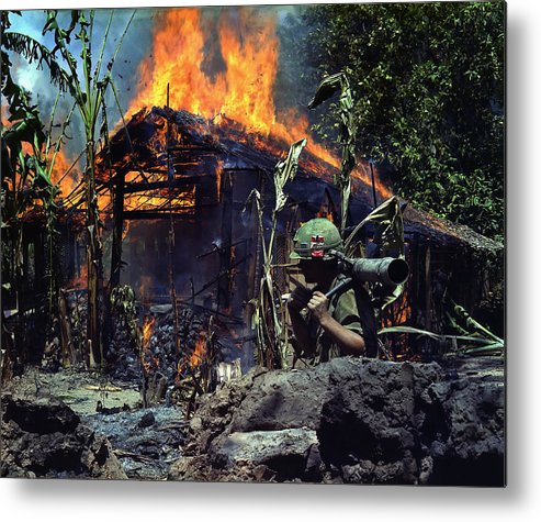 Vietnam Metal Print featuring the photograph Images Of Vietnam by Mountain Dreams