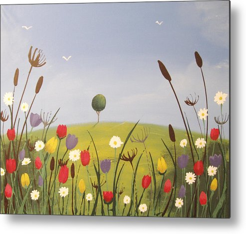 landscape painting original Flower Painting wall art acrylic ...