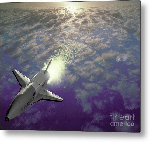 Aircraft Metal Print featuring the photograph X34 Aircraft by Nasa