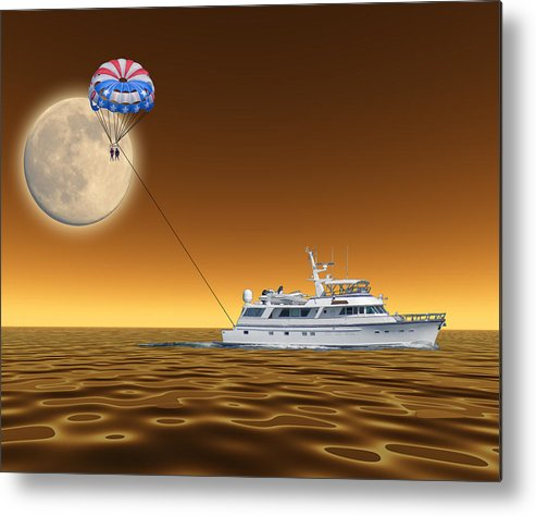 Boat Metal Print featuring the photograph 2085 by Peter Holme III