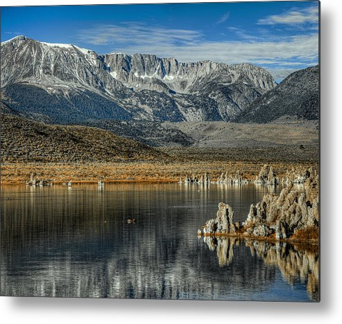 Hdr Metal Print featuring the photograph Gods Country by Stephen Campbell