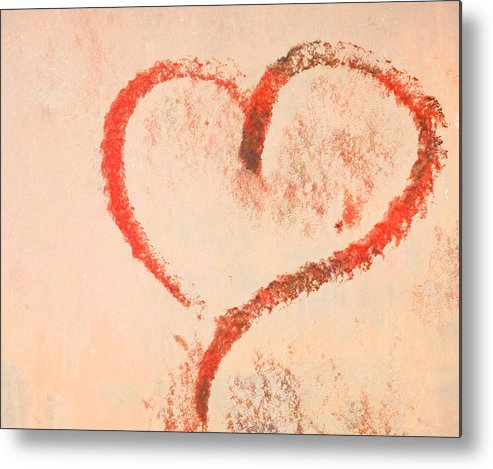 Heart Metal Print featuring the photograph Heart by Odd Jeppesen