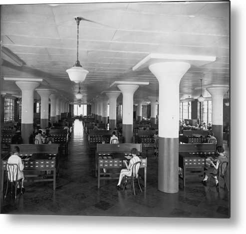 B And W Neg. No. 5131 B Metal Print featuring the photograph Untitled by Edwin L. Wisherd