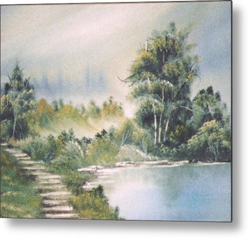 Biblical Metal Print featuring the print Untitled by Beverly Baxter