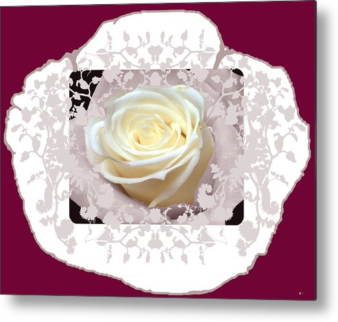 Red Rose Rose Metal Print featuring the photograph Wedding Rose Collection by Debra   Vatalaro