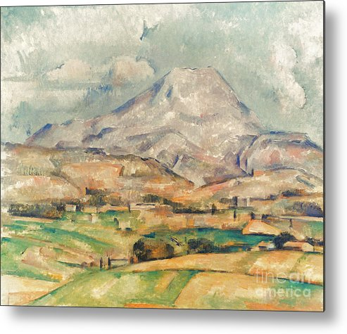 1897 Metal Print featuring the photograph Cezanne: St. Victoire, 1897 by Granger