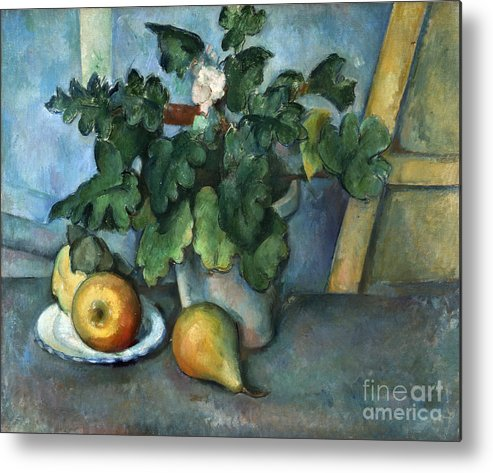 1890 Metal Print featuring the photograph Cezanne: Still Life, C1888 by Granger