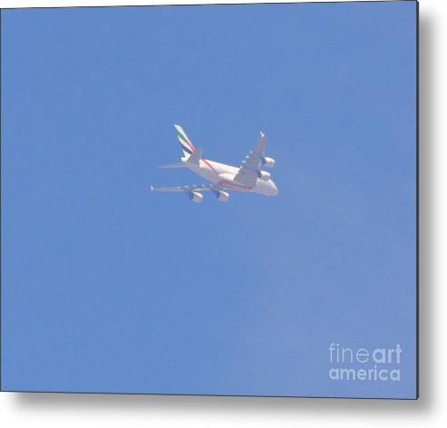 Four Engine Plane Prints Metal Print featuring the photograph Four Engine Plane by Ruth Housley