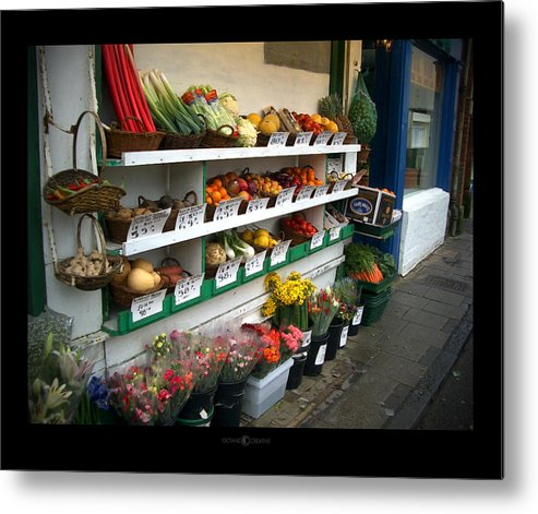 Shaftesbury Metal Print featuring the photograph Fresh Produce by Tim Nyberg