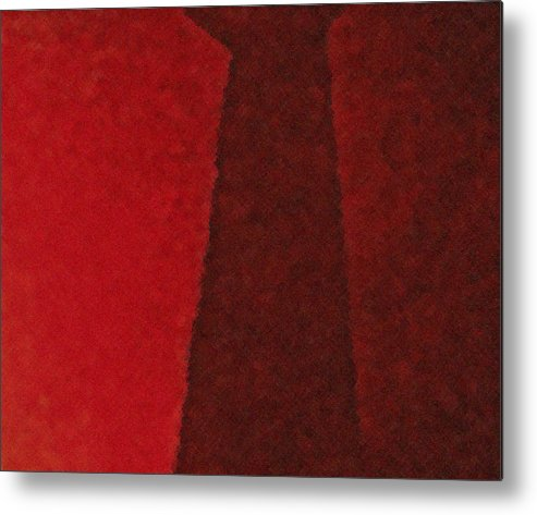 Abstractpainting Abstract Paintingsabstract Paintings Multi Colour Paintings Multi Colour Canvas Prints Abstract Canvas Prints Abstract Greeting Cards Metal Print featuring the painting Heat I by Chris Riley