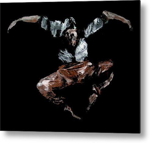 Ballet Metal Print featuring the painting Jump by Ana Bikic