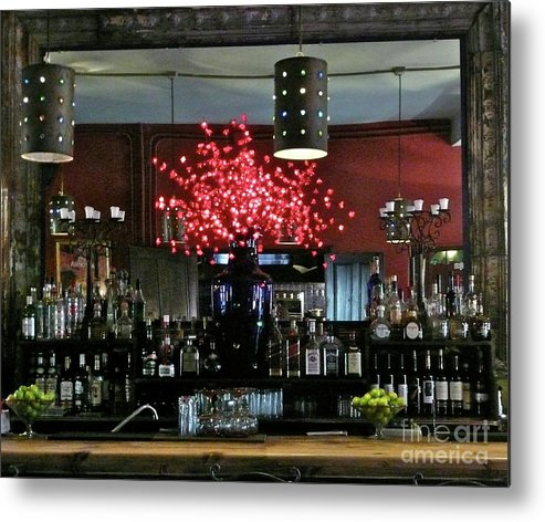 Food Metal Print featuring the photograph Margaritas by Cindy Lathrop