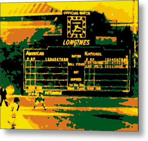 Official Watch Metal Print featuring the photograph Maz World Series Homer by Ron Regalado