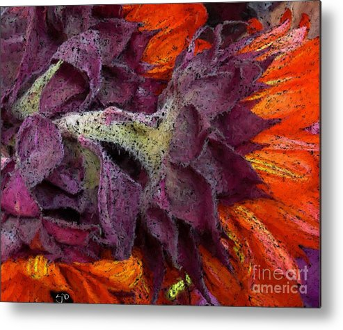 Flower Metal Print featuring the photograph Store Flower by Ron Bissett