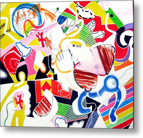 Candy Metal Print featuring the painting Sweets by Barron Holland