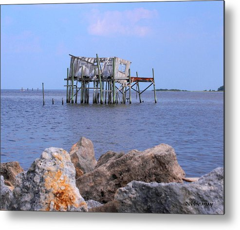Cedar Key Metal Print featuring the photograph The Honey Moon Suite 2 - Debbie May - Phtosbydm by Debbie May