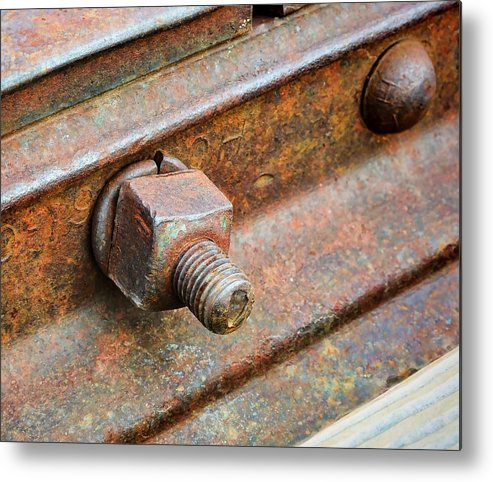 Evanston Metal Print featuring the photograph The Roundhouse Evanston Wyoming - 4 by Ely Arsha