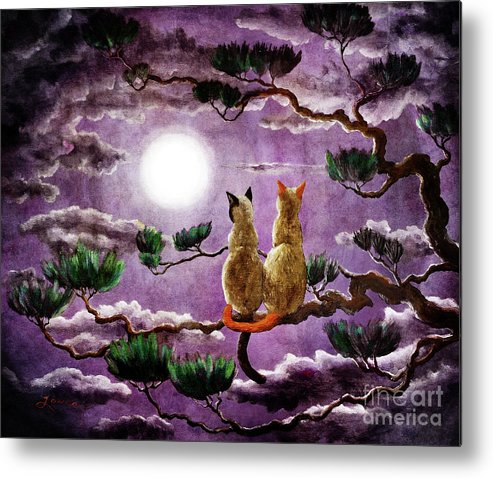 Zen Metal Print featuring the digital art Dreaming Of A Pine Tree by Laura Iverson