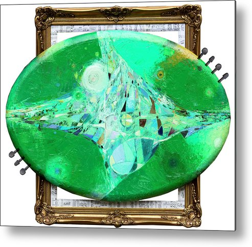 Metal Print featuring the painting A Spring Song by George Pali