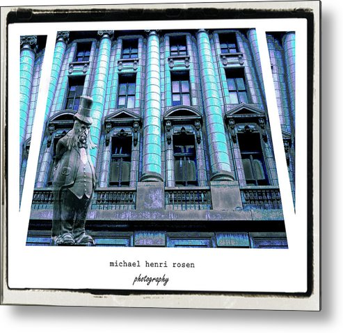 Building Metal Print featuring the photograph Haunted by Michael Rosen