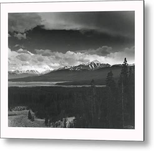 Landscape Metal Print featuring the photograph Homage To Ansel by Jim Furrer
